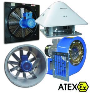 Antieksplozivni ventilatori