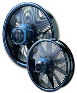 Aksijalni ventilatori sa ramom za usmeravanje