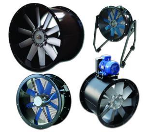 Aksijalni cevni ventilatori