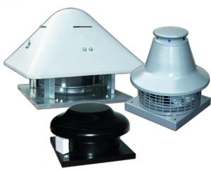 Centrifugal roof fans