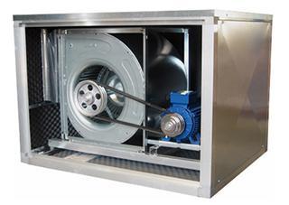 """Centrifugalni kanalni ventilator u zvučno izolovanoj kutiji """"BD-BOX"""""""