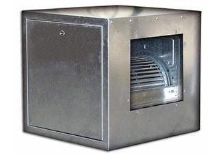 """Centrifugalni kanalni ventilator u zvučno izolovanoj kutiji """"DC-BOX"""""""