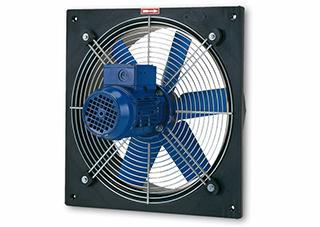 """Aksijalni ventilatori sa ramom za usmeravanje """"PLATE-M"""""""