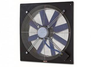 """Aksijalni ventilatori sa ramom za usmeravanje """"PLATE-S"""""""