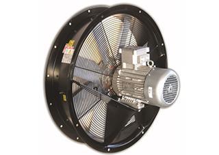 """Aksijalni ventilatori sa ramom za usmeravanje za eksplozivne sredine """" RING-dr """" , """" RING-sr """""""