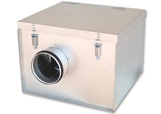 """Centrifugalni cevni ventilator u zvučno izolovanoj kutiji """"SILENT-BOX"""""""